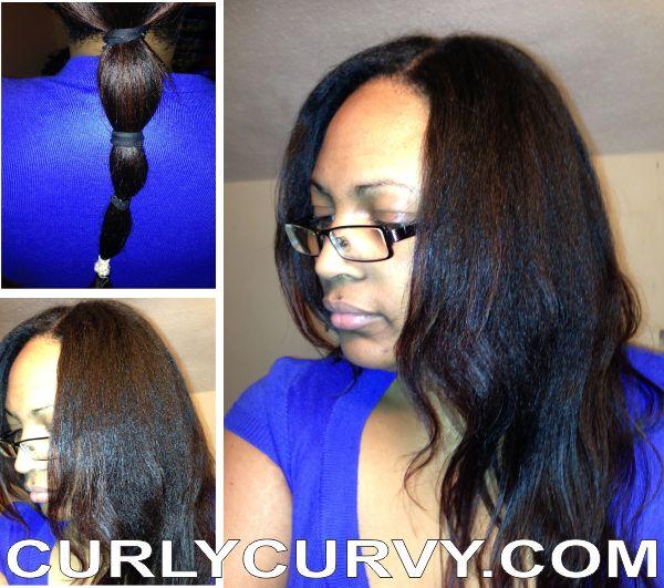 89 best almas blog curlycurvy images on pinterest natural slightly reverted straightened natural hair httpcurlycurvyhair urmus Image collections