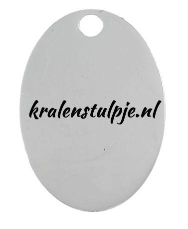 Labeltjes met eigen tekst bij www.kralenstulpje.nl