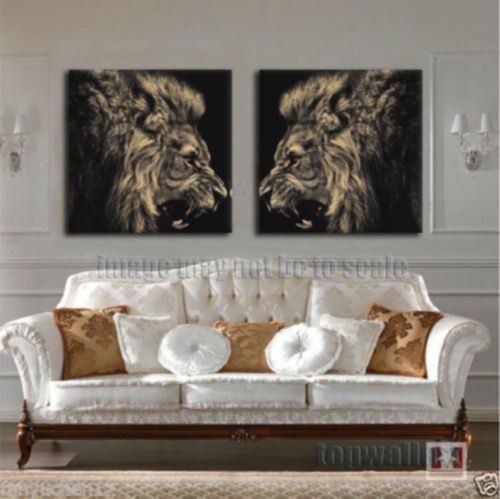 Details About Hd Canvas Painting Animal Picture Print Home Decor Wall Art For Room Lion King
