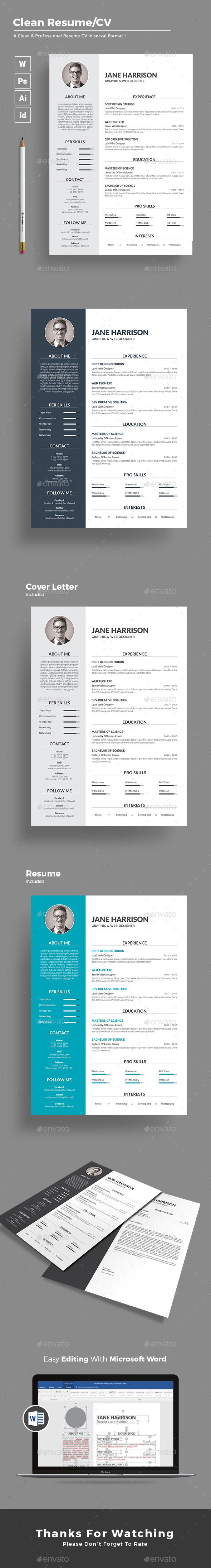 Resume Vita Excel  Best Images About Resumecv Word Template On Pinterest  Adobe  Should You Put References On A Resume with Fashion Designer Resume Resume Cv Template  Color Version Available In All Format  Photoshop  Illustrator Sample Administrative Resume Word