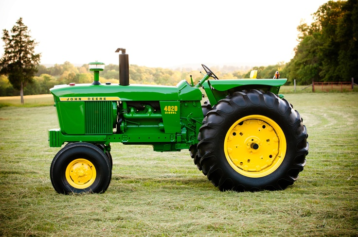 John Deere 4020. The staple of a John Deere ran farm