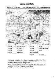 Resultado de imagen de winnie the witch activities to print