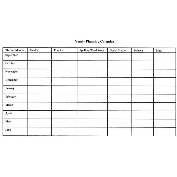 Year End Report Template: How To Create Monthly And Yearly Plans For The Classroom