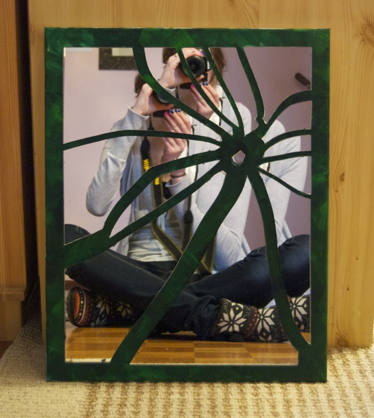 broken mirror art diy crafts that i love pinterest