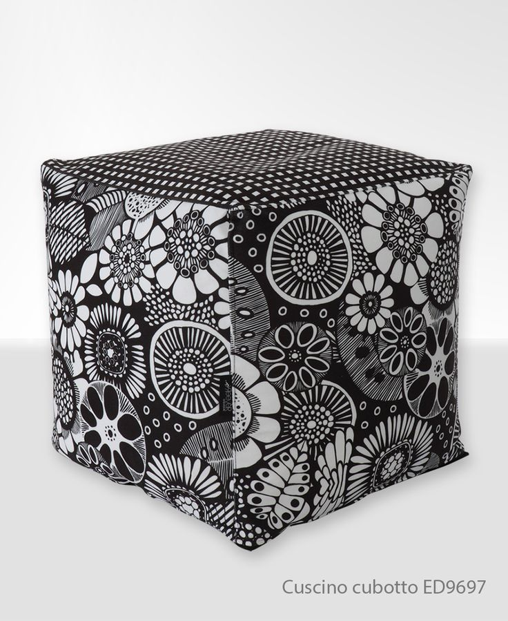 Cubotto cubi con temi a quadri e motivo #Floreale. Meglio in camera da letto o in soggiorno? ;)  Seguici http://ow.ly/SBLOZ