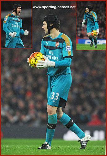 Petr Cech - Arsenal FC - Premiership Appearances