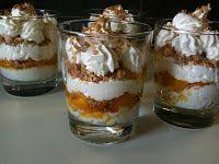 Bicchierini yogurt greco pesche e amaretti