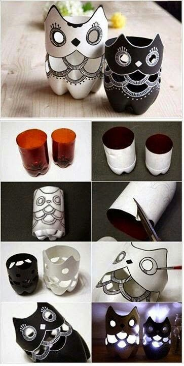 Botellas plasticas recicladas