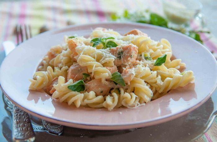 Креветочно-чесночный соус для макарон