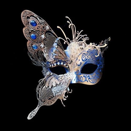 No masquerade ball is complete without some beautiful masquerade masks to go with it. Whether you are dressing up for your school prom or homecoming or just having a great mardi gras or carnival party to celebrate, you can't go wrong with our great selection of venetian masks, masquerade half masks, deluxe metal half masks or any of our full face masquerade masks. With selections of masks from as low as $2 each we definitely have the right mardi gras mask for you. We also have a great color…