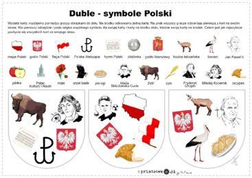 Duble z symbolami Polski - Printoteka.pl