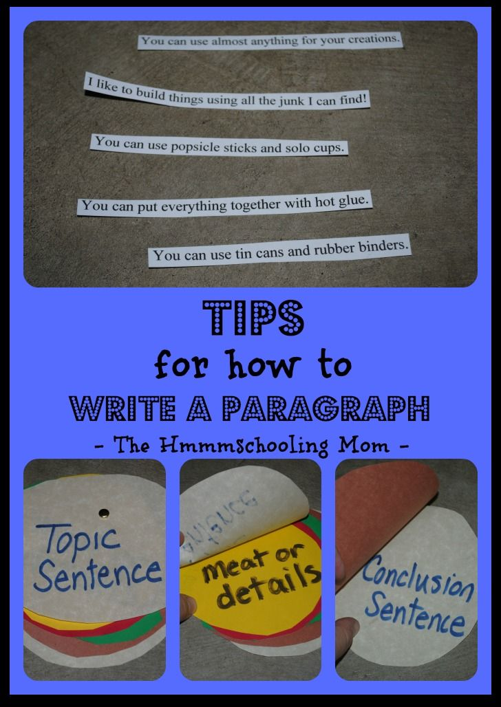 how to write an analytical paragraph for hih school