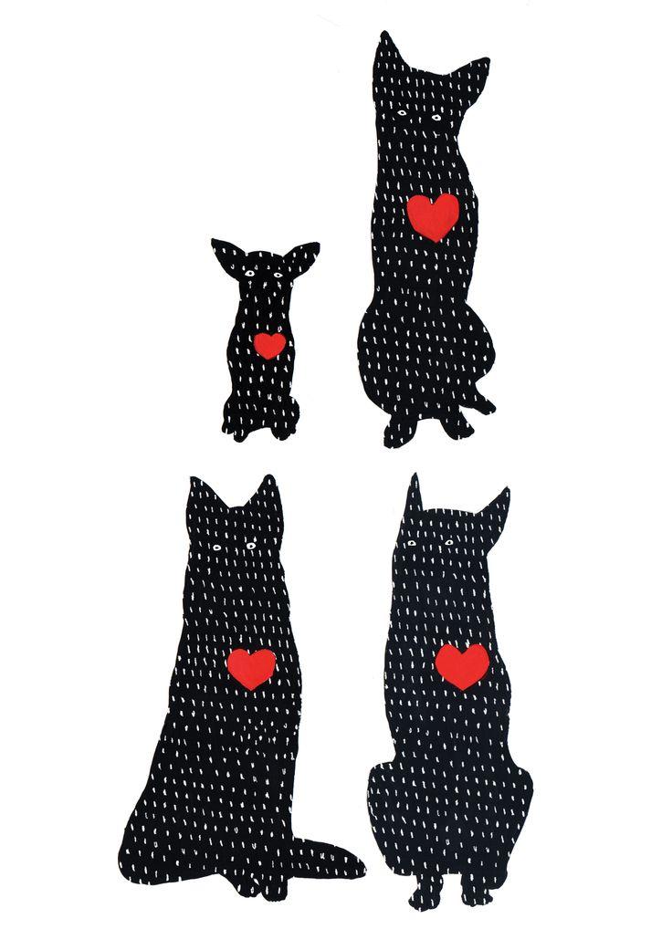 ilustration for animal shelter advertising version2