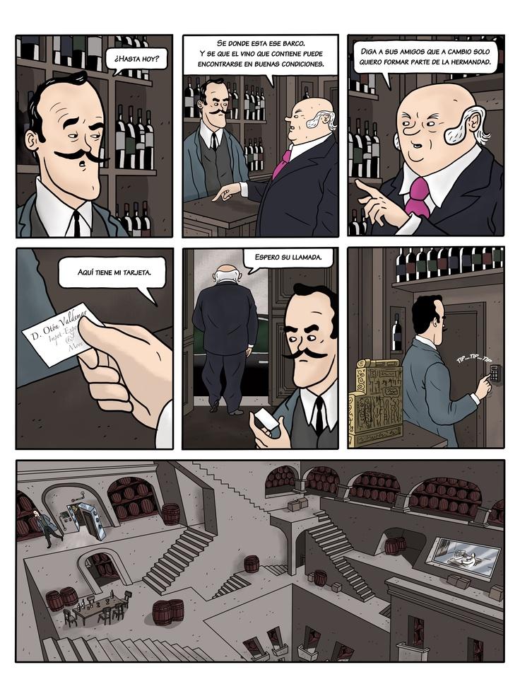Wine Comic La Bodega Universal IV Part