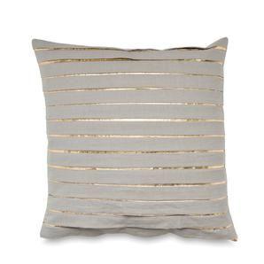 Underground Pleated Cushion Cover w/Gold Foil #worthynzhomeware wwworthy.co.nz