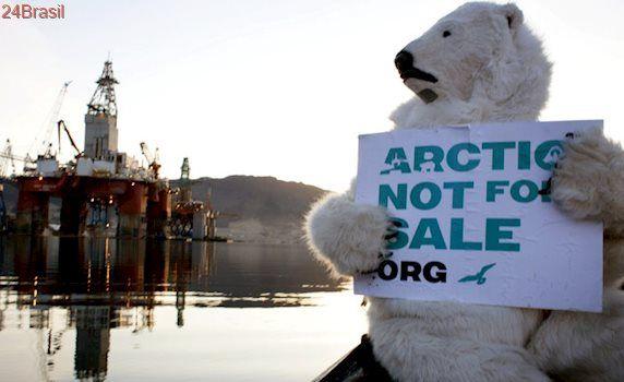 Guarda Costeira dos EUA alerta sobre impactos de explorações de petróleo no Ártico