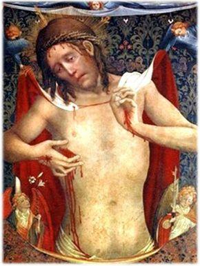 Por la señal de la Santa Cruz, de nuestros enemigos, líbranos Señor. En el nombre del Padre, del Hijo y del Espíritu Santo. Amén. ...