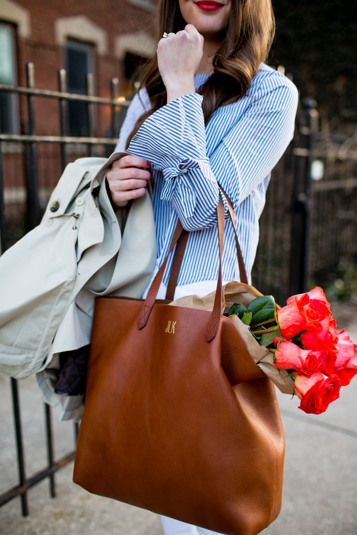 Madewell Transport Tote–Spring Classics - The Golden Girl