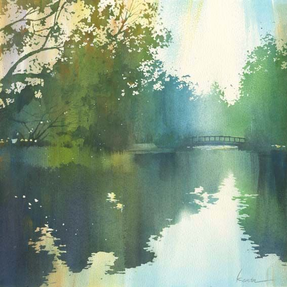 Kanta Harusaki #watercolor #art #painting 2012