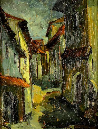 Rudolf Schweitzer - Cumpăna - Peisaj citadin