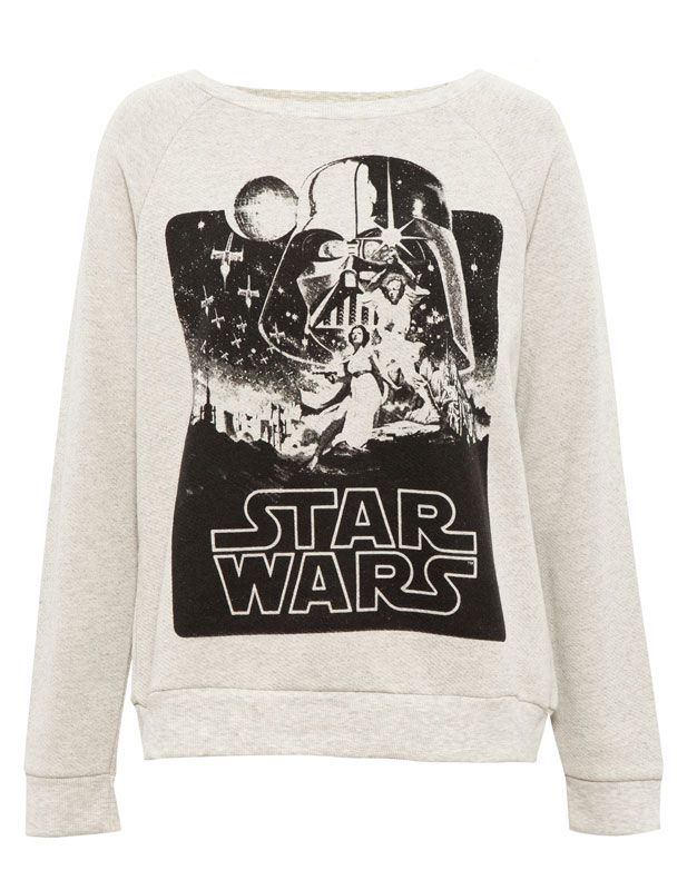 STAR WARS SWEATSHIRT - NEW PRODUCTS - WOMAN - PULL&BEAR Bulgaria