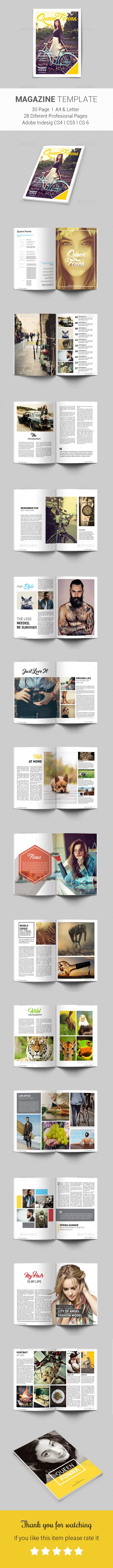 Multipurpose Magazine — InDesign INDD #hipster magazine #minimilist indesign template • Download ➝ https://graphicriver.net/item/multipurpose-magazine/19014303?ref=pxcr