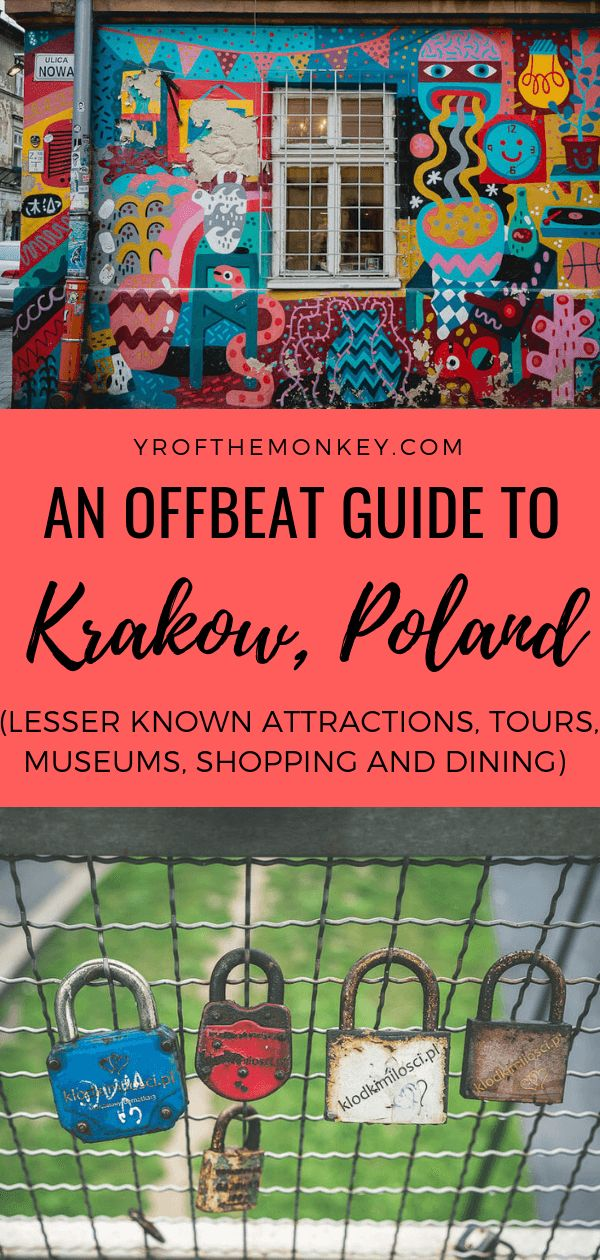 3 days in Krakow: A guide to offbeat attractions, shopping and dining