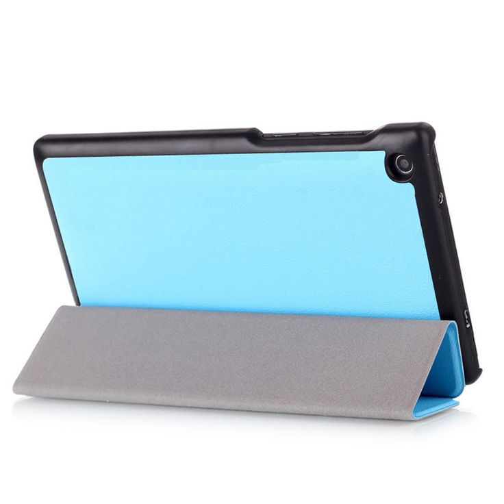 PU Leather Cover Stand Case for Lenovo Tab 3 7 710(Tab3 7 essential 710 710I 710F) Tablet 7.0 inch + 2 Pcs Screen Protector Free