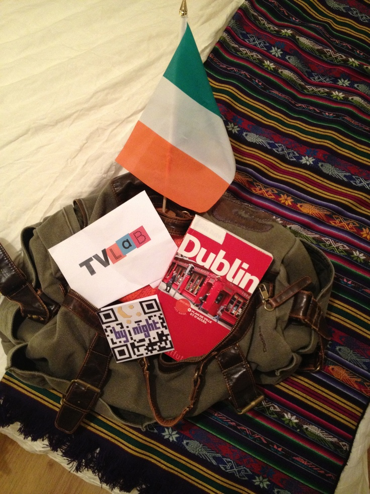 Le soir du départ, Dublin en poche