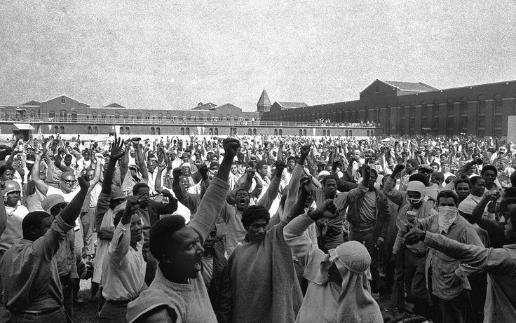 Additional Information. Image of 1971 Attica prison riot.