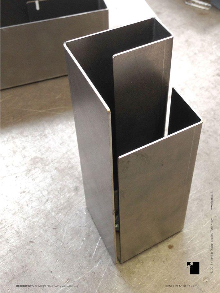 Desktop set prototype by Valerio Campisi