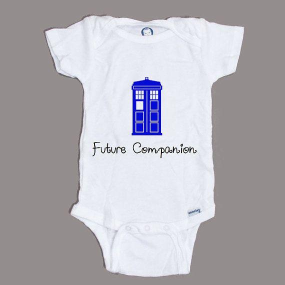 Doctor Who futuro compañero Tardis policía Onesie escoger su tamaño de la caja