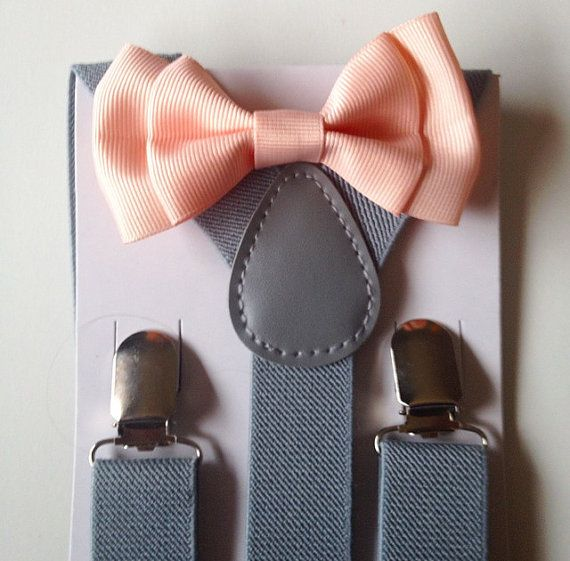 Hey, I found this really awesome Etsy listing at https://www.etsy.com/listing/229186098/suspender-bowtie-set-groomsmen-wedding
