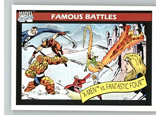 1990 Impel Marvel Universe #101 Fantastic Four vs. X-Men @ niftywarehouse.com #NiftyWarehouse #Xmen #Marvel #X-Men #Comics #Geek #ComicBooks