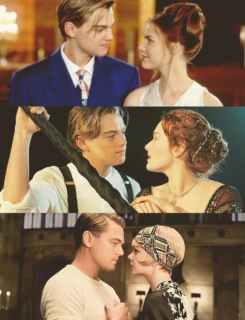 Romeo and Juliet. Titanic. Great Gatsby. I am convinced that no one can look at a girl like Leo.