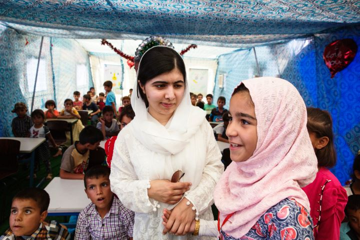 'We Have to Support These People.' Malala Yousafzai Visits Iraq to Meet Girls Who Lived Under ISIS