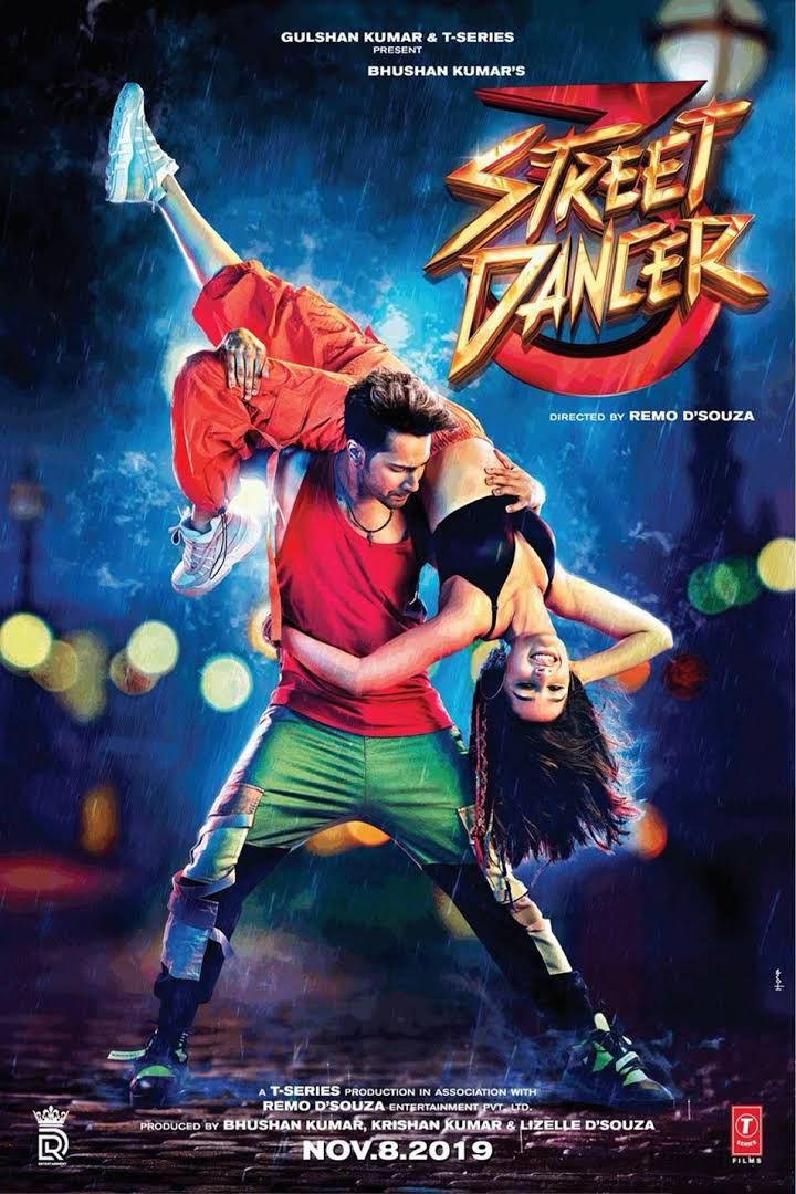 Watch or Download Street Dancer 3D Full Hindi Movie in HD-480p in 2020  Dance movies, Latest