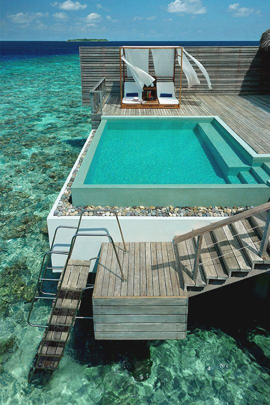 italian-luxury:  Dusit Luxury Maldives Resort by Dusit International