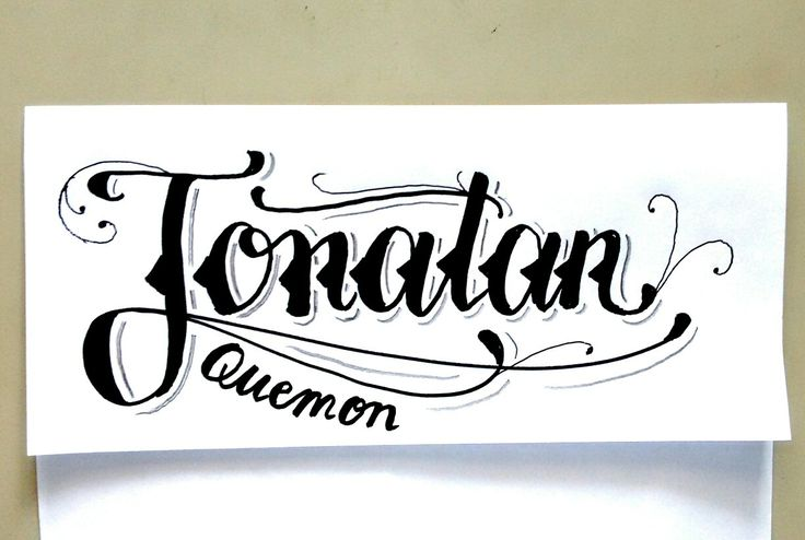 Jonathan   #handlettering #handwriting #Hanmade #Lettering #Letters #marker #sharpie #ILoveCalligraphy #Calligraphy #doodle #art #design #ink #handstyles #calligraffity #HandType #escritura #tipographyinspired #pencil #sketch #paper #tagname #tatto #tattodesign #blackletter #calligraphymasters #typography #InkTecnique #tools