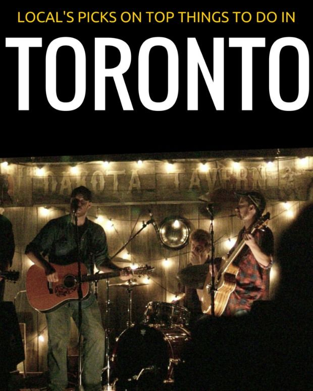 Find out what a local suggests when asked what to do in Toronto.