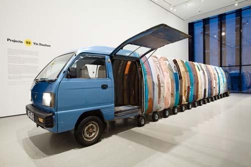 Yin Xiuzhen, Projet 92 - MoMa de New York