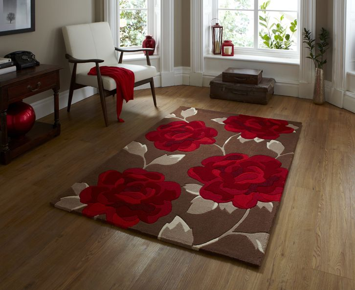 TR Hong Kong HK 793 Brown Red Rug By Think Rugs May Show Price At Top