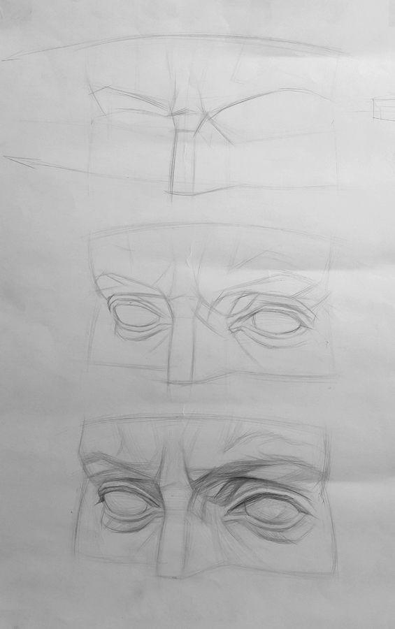 Школа рисования New Art Intention. Научиться рисовать карандашом. Давид, глаза. Уроки рисования карандашом поэтапно рисование для начинающих.  #newartintention #artintent #artintentstudio