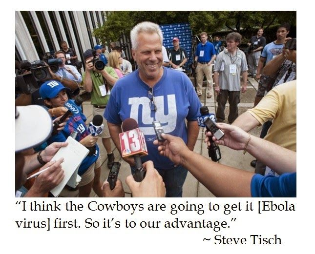 NY Giants Co-owner Steve Tisch's Sick Sense of Humor