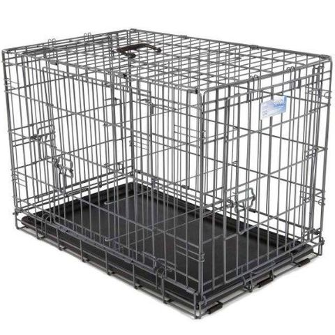 midwest ultima pro series triple door dog crate tough heavy duty dog crate