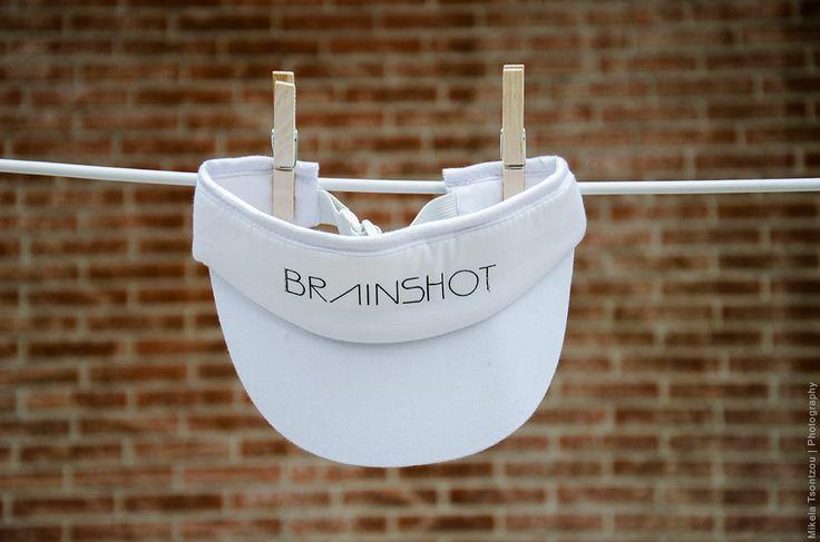 BRAINSHOT VISOR // WHITE