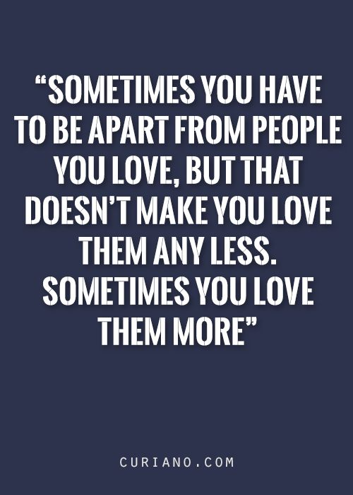 Sometimes is makes you fall in love with them all over again.....