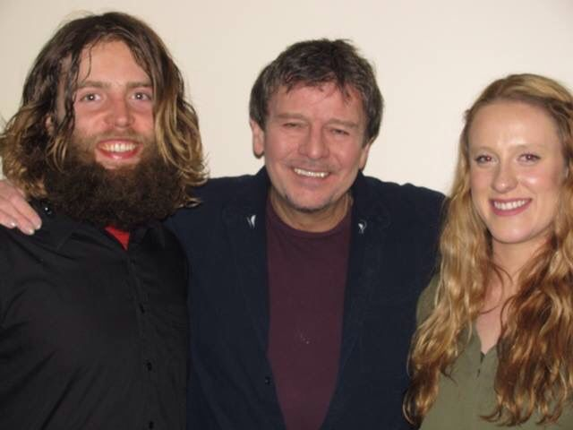 Lennie Gallant along with Jeremy Gallant and Shannon Quinn.  Alberta tour 2016.