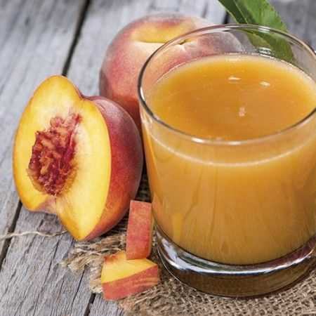 Succo di carota, mela e pesca