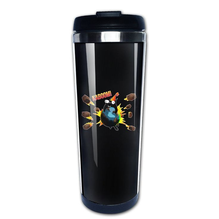 Texhood Exploding Cats Custom Cool Stainless Steel Insulation Travel Mugs 400ml *** See this great image  : Cat mug